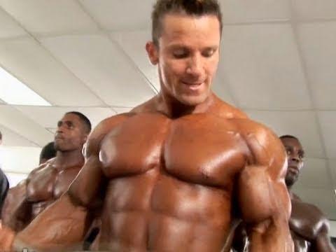 2010 NPC Nationals Men's Bodybuilding Pump Room 2