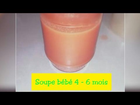 وصفة-الحساء-للرضيع-6-4-أشهر-recette-soupe-bébé-4-6-mois.