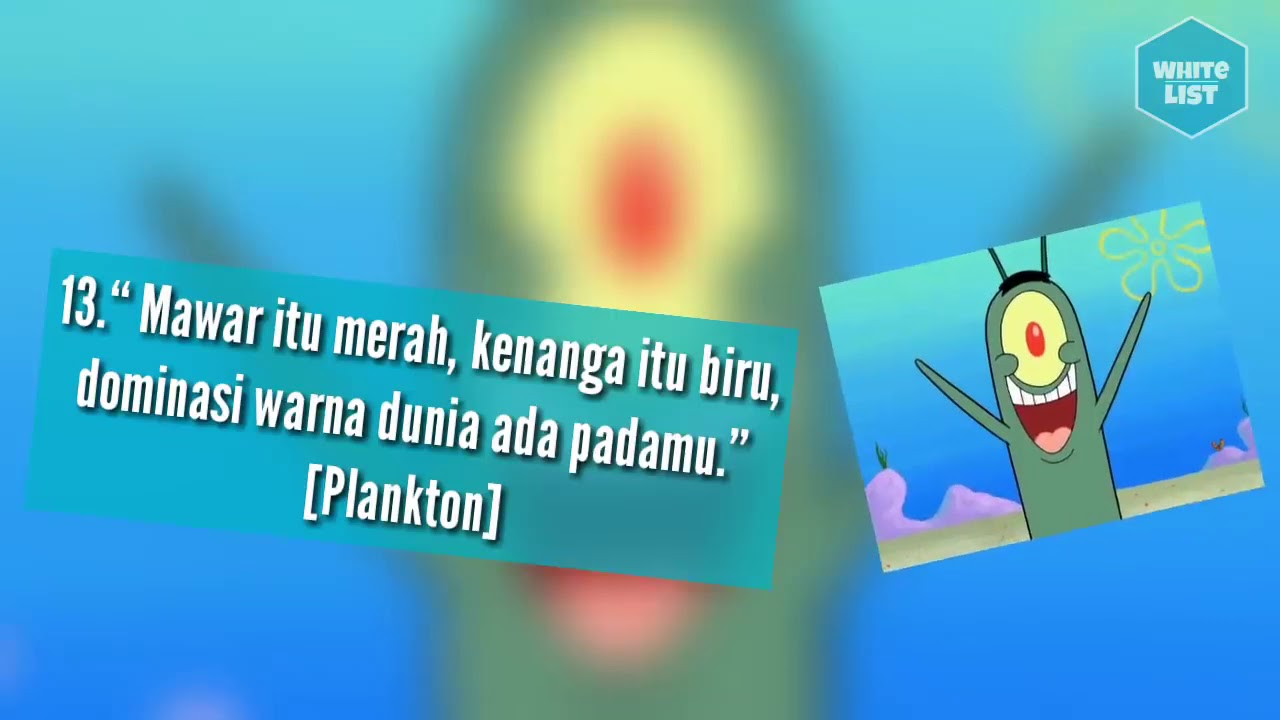 Top 26 Qoutes Terbaik Dalam Film Spongebob Squarepants Kata Bijak Spongebob Dan Kawan Kawan Youtube