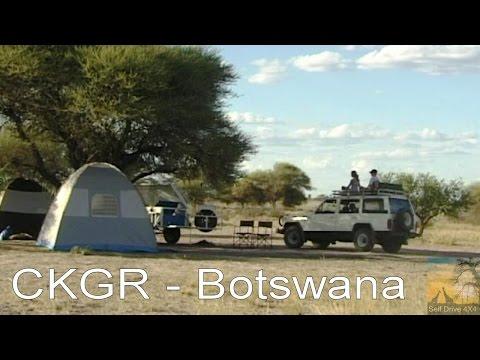Self Drive CKGR Botswana