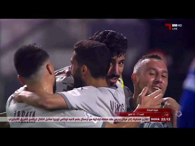 مجلس قناة الكاس | ااشادة خاصة بالجزائري بغداد بونجاح متصدر ترتيب الهدافين