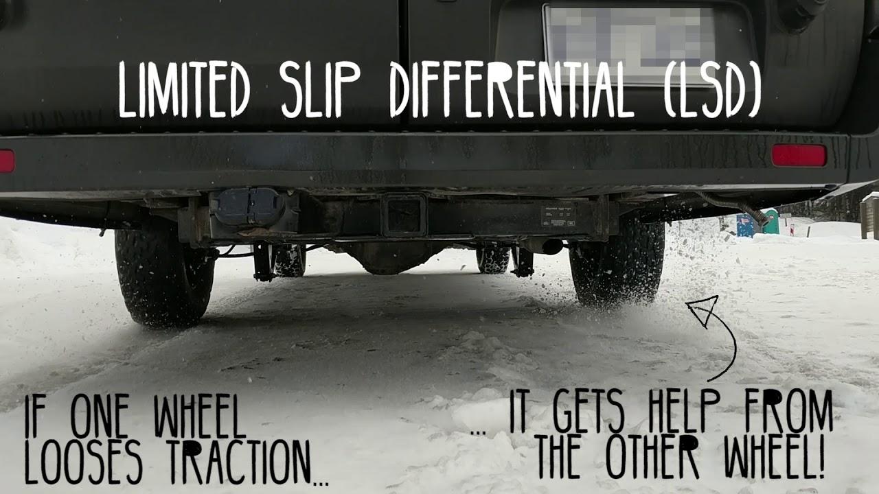 Ford Transit Limited Slip Differential (LSD)
