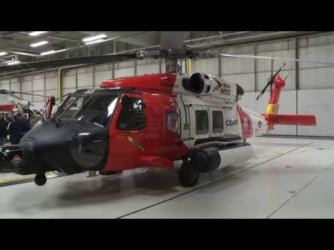 Coast Guard Air Station in Traverse City Fleet Upgraded to MH-60 Jayhawks