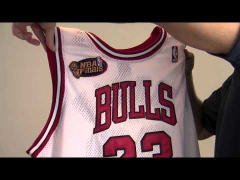 8556612251ad Autographed Michael Jordan Chicago Bulls Jersey - PSA DNA - YouTube