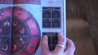 Mistborn Adventure Game Deluxe Hardcover Unboxing