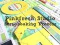 Scrapbooking Process #231 Pinkfresh Studio GDT / More of This