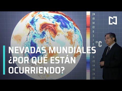 Nevadas en el mundo 2021 | Cambio climático 2021 - En Punto