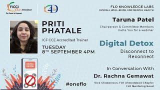 Taruna Patel, Chairperson FLO Ahmedabad presents