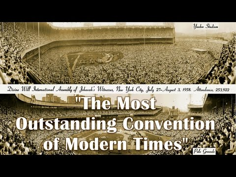 1958 Jehovah's Witnesses New York Yankee Stadium Convention