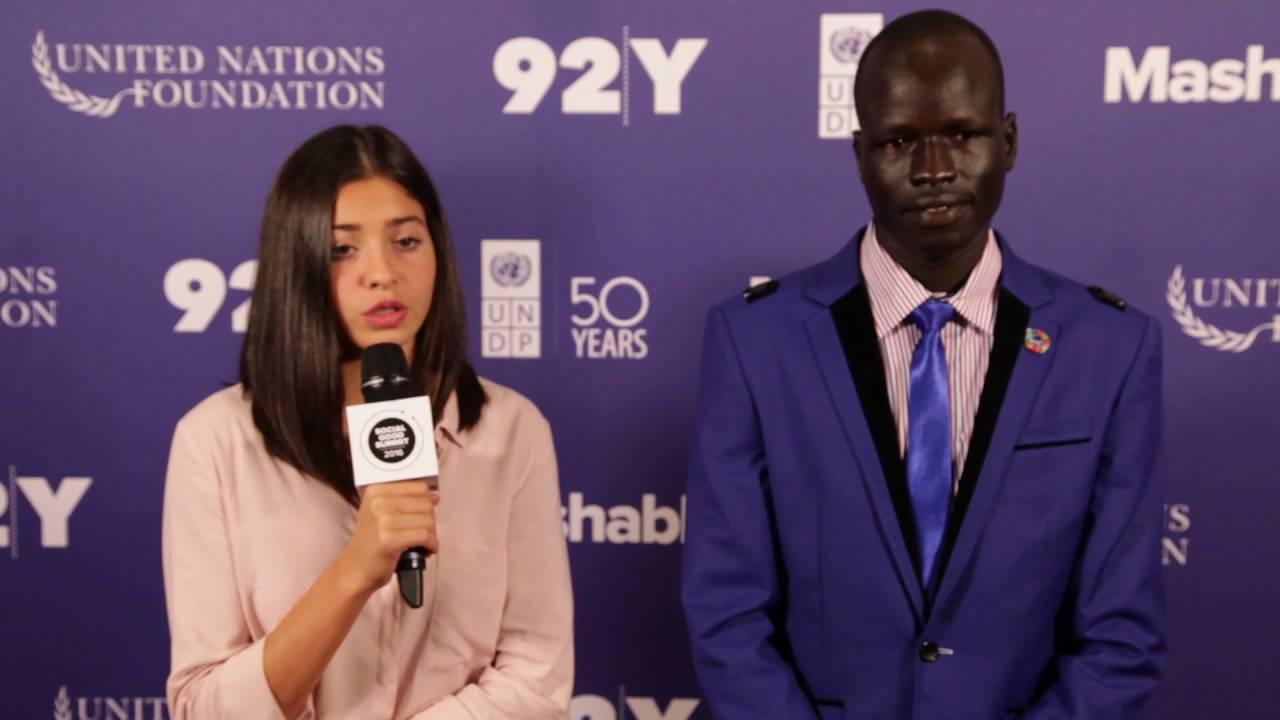Yiech Pur Biel, Yusra Mardini: 2016 Social Good Summit