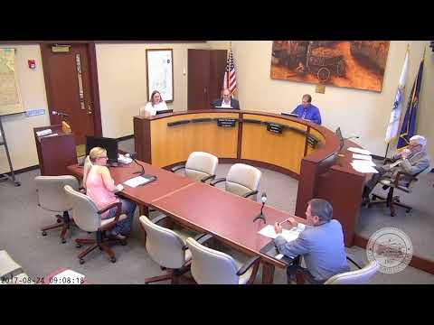 LV County BOCC Meeting for August 24, 2017