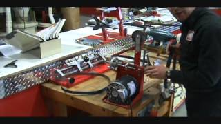 knife sharpening with the viel sander grinder s5 m and the s 9 accessory