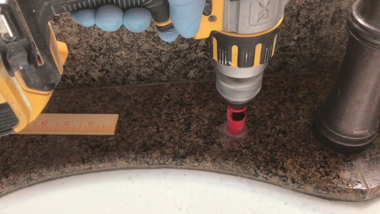 How To Drill A Hole Through Granite Kitchen Sink