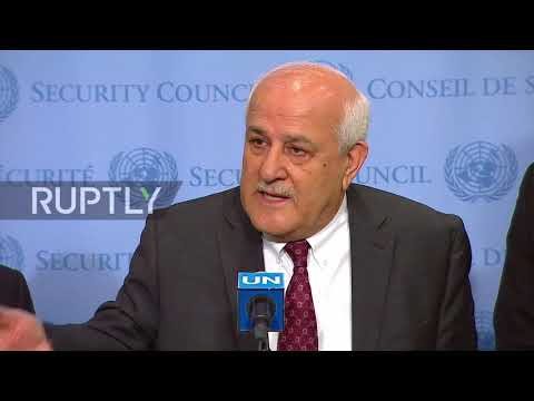 UN: Palestinian envoy urges UNSC to investigate 'war crimes' of Gaza 'massacre'