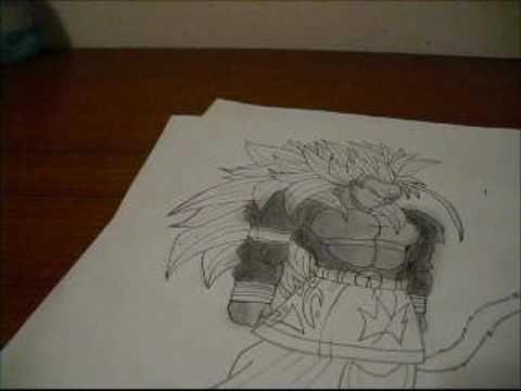 drawing goku ssj5