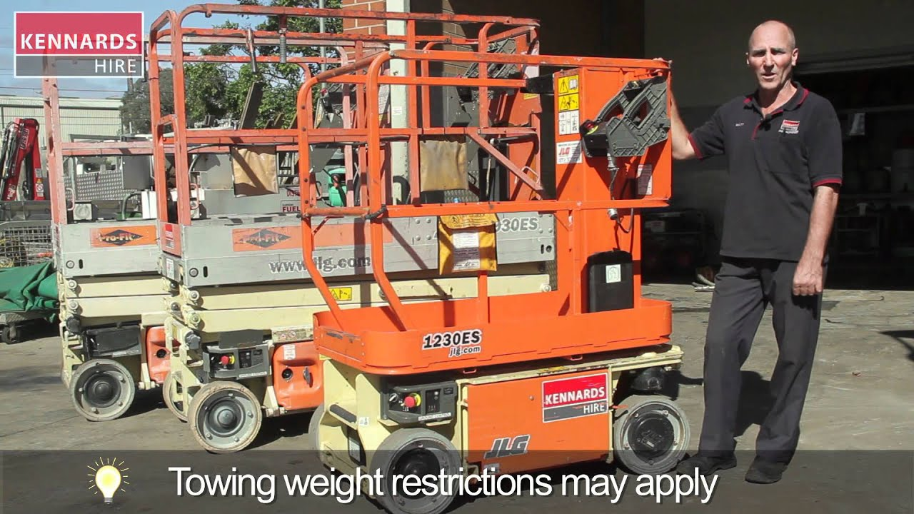 hight resolution of scissor lift and manlift types and operation