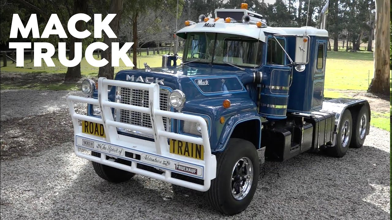 Roger Preston's BIG MACK Truck: Classic Restos Series 47