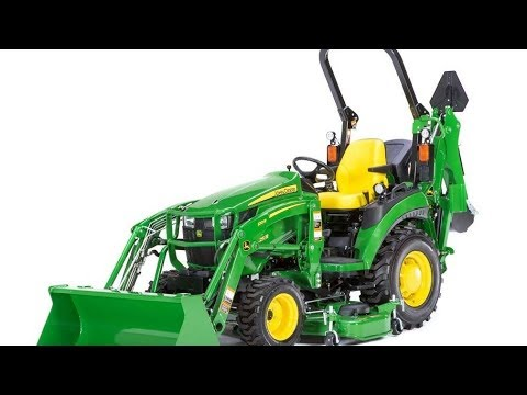 2017/2018 John Deere 2025R First Look - Tractor Time With Tim