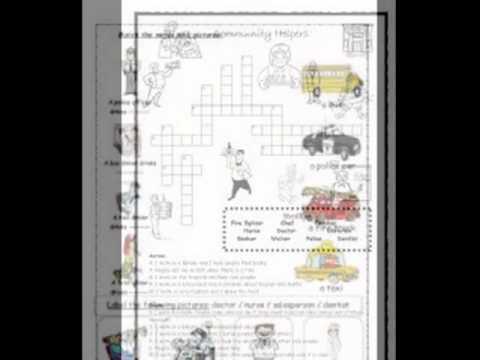 Doris Occupations Worksheets