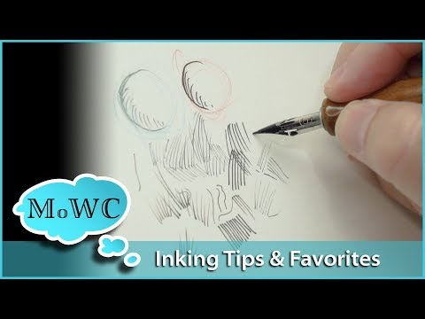 Pen & Ink Tips and Favorites – InkTober