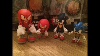 Unboxing - Modern/Classic Sonic & Knuckles Tomy Figure 2-Pack