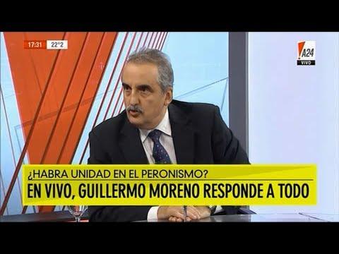 Guillermo Moreno en A24 12/02/18