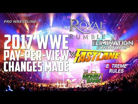 News & Updates On 2017 WWE Pay-Per-Views; Plus Fan Of The Week