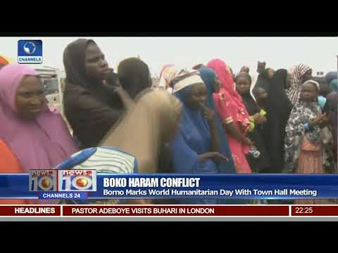 Borno Marks World Humanitarian Day With Town Hall Meeting