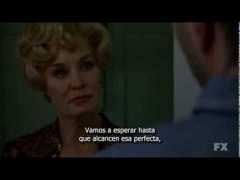 American Horror Story  S1  Jessica Lange, Zachary Quinto  A men shal not lay with a man