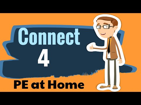 Connect 4 - PE AT HOME