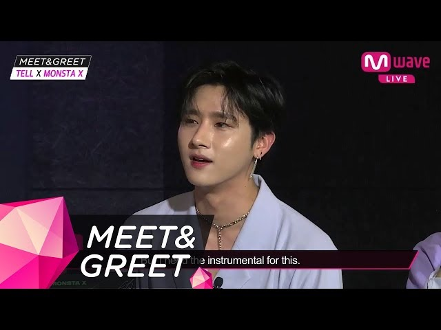 [MEET&GREET] Side track introduction 'This feels new!' Monsta X album: Unexpected manual