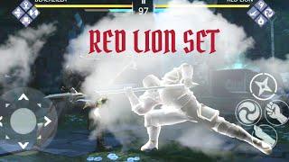 Shadow Fight 3 red lion shadow pass boss | SANGUINE FOREST iaido KATANA