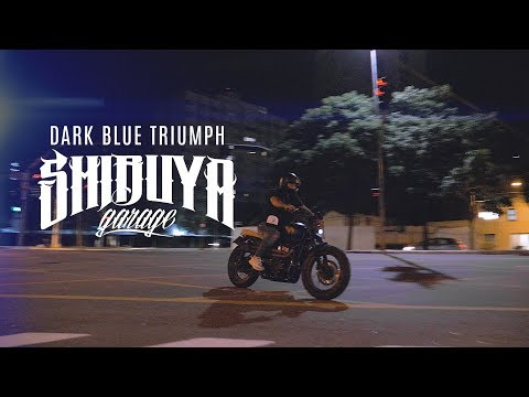 DARK BLUE TRIUMPH | SHIBUYA GARAGE