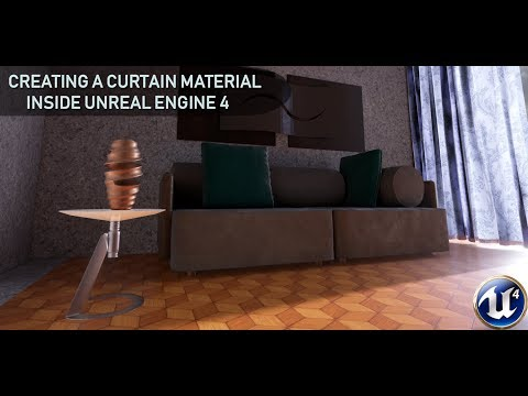 Creating a Curtain Material in Unreal Engine 4