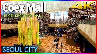 [4k] 코엑스몰 스타필드 Coex Mall Aroun…