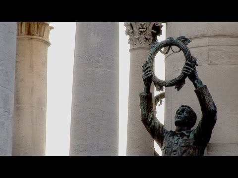 'Living Without War', a film by artist David Marchant
