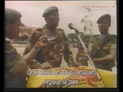 Hommage au Général Mahélé, qui fut assassiné par les hommes de main de Mobutu