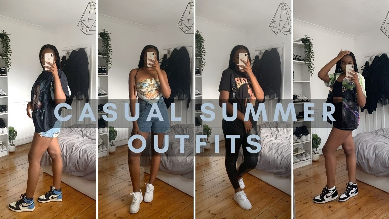 CASUAL SUMMER OUTFITS 2020 ~ a summer lookbook