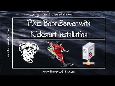 PXE Boot Server with Kickstart Installation on CentOS 8