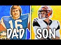 Gambar cover COMPARING NFL ROOKIES TO THEIR DADS