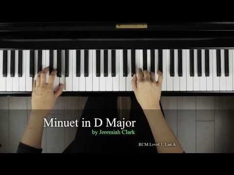 Finger Tips: Minuet in D Major