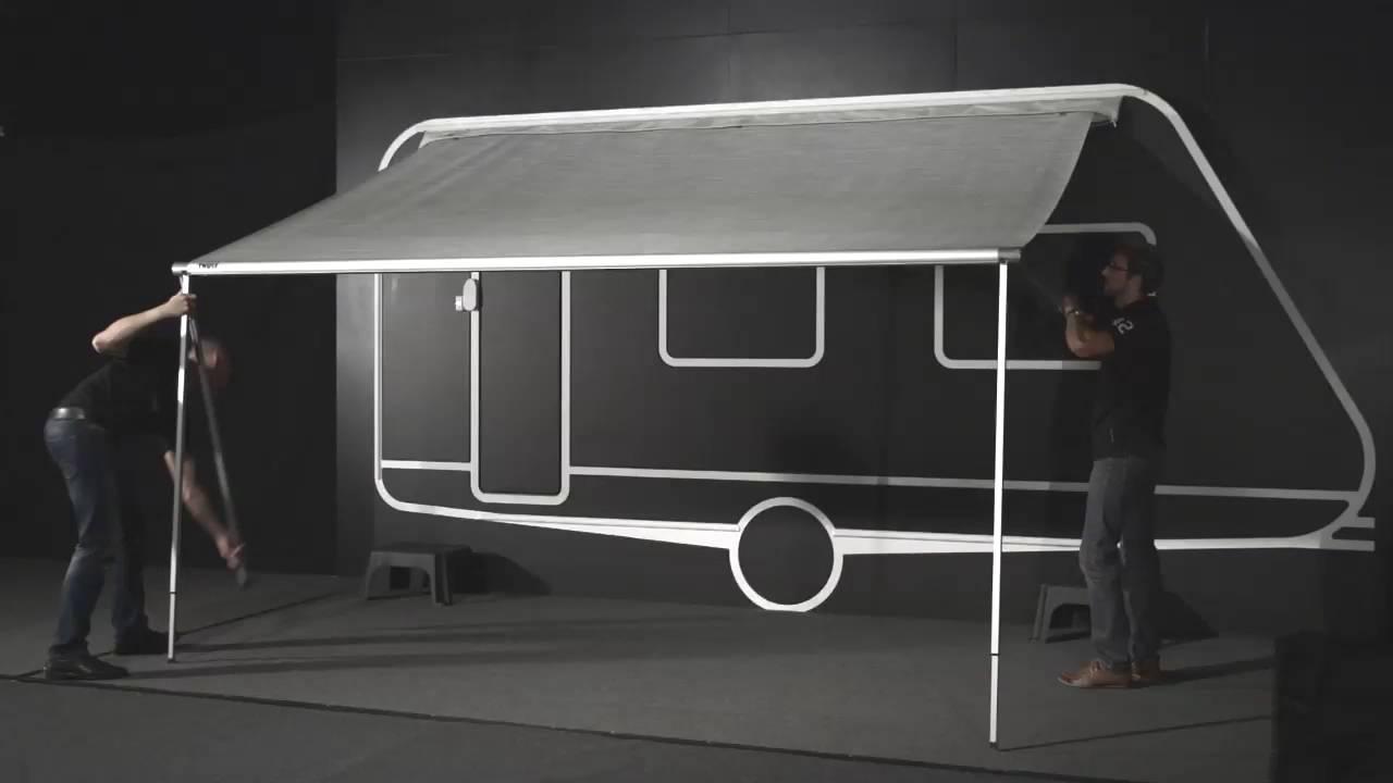 thule omnistor 1200 vinken caravans asten youtube. Black Bedroom Furniture Sets. Home Design Ideas