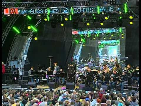 Igor Butman and Kaunas big band in Klaipeda castle jazz festival (part 1)