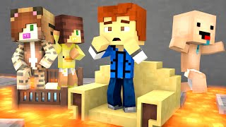 Minecraft Daycare - DONT FALL  !?