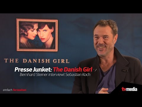 PRESSE JUNKET: The Danish Girl  Sebastian Koch