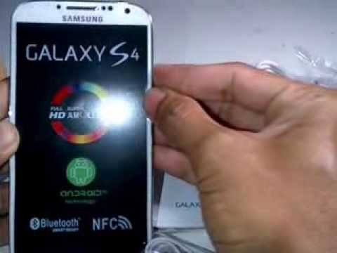 Unboxing Samsung Galaxy S4 5 inch Replika Super COpy