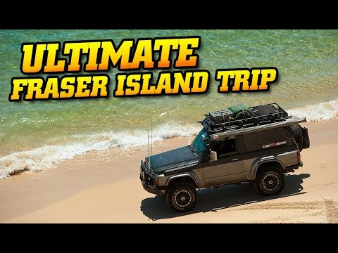 Ultimate Fraser Island Adventure • The best 4WD destination in QLD?