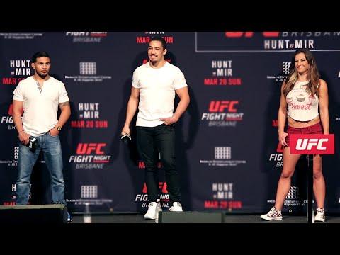 UFC Brisbane: Full Q&A (Miesha Tate, Robert Whittaker, Dennis Bermudez)