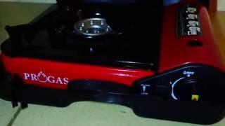 Kompor Gas Portable PROGAS Dua Fungsi Indonesia