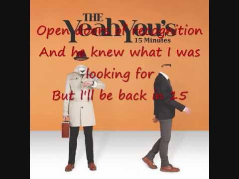 15 minutes Yeah You's Acoustic Version Karaoke w/ lyrics